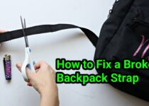 How to Fix a Broken Backpack Strap
