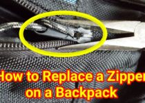 How to Replace a Zipper on a Backpack